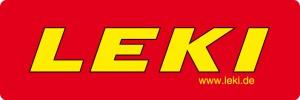 LEKI Logo NEU bg red-round
